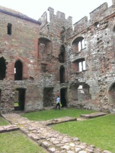 The castle at Acton Burnell
